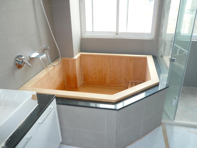 木桶浴缸、檜木桶浴缸