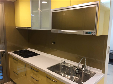 新北市廚房烤漆玻璃
