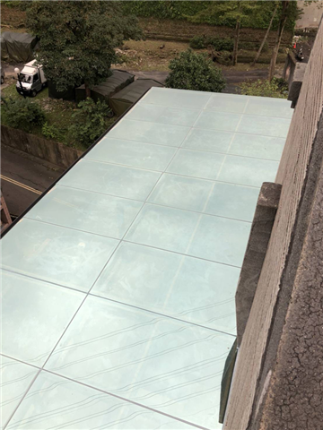 新北市玻璃採光罩