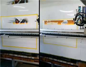 Robo 機器人噴畫施作