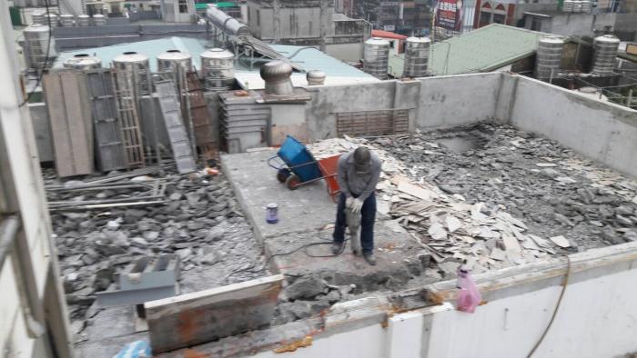 工廠重機械拆除工程