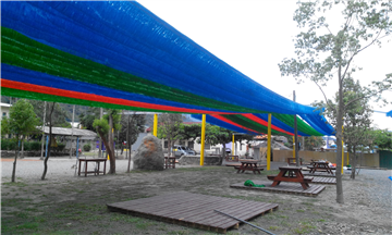 流蘇型彩色網