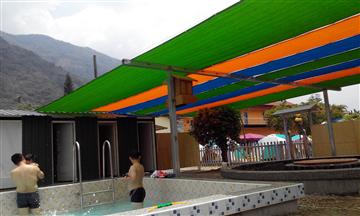 戲水區遮陽網