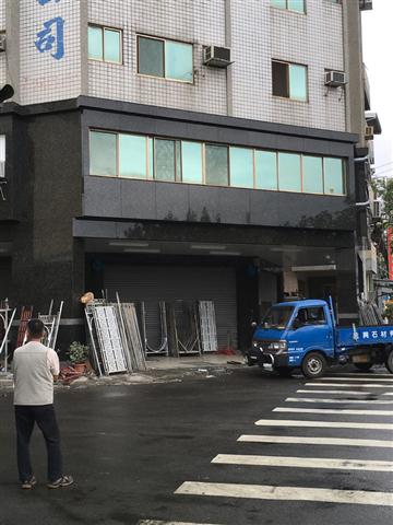 大樓外牆石材-施工後