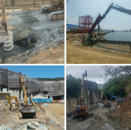 各式大口徑基樁地質改良樁