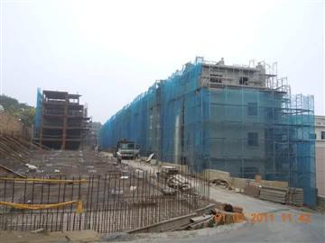 鋼管鷹架工程、建築鷹架、竹架
