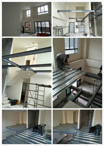 鐵工樓承板施工