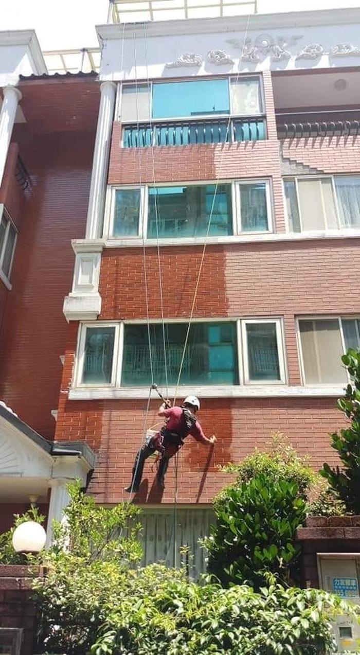 高空外牆磁磚修繕工程