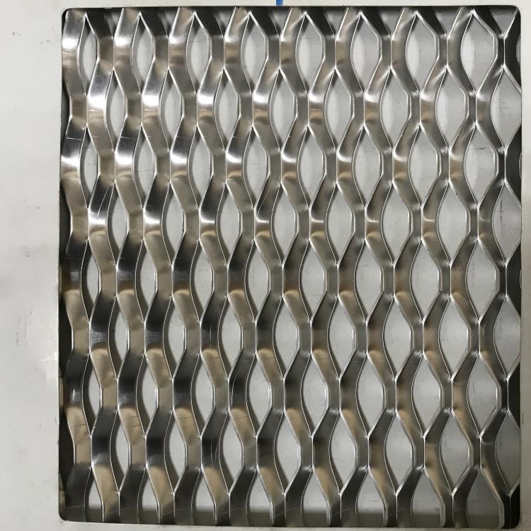 鋁製菱形網