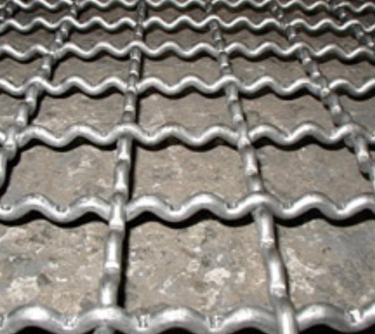 浪型編織網