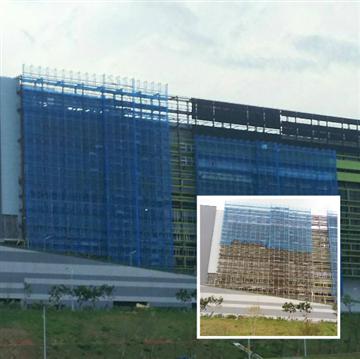 中科-台積電P5-力福-鷹架工程、支撐排架