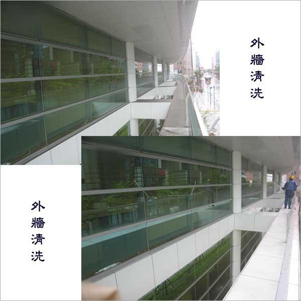玻璃外牆清洗