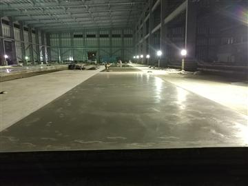 VNA超平整地坪施工