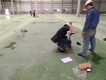 VNA地坪測量(ASTM E1486(M)