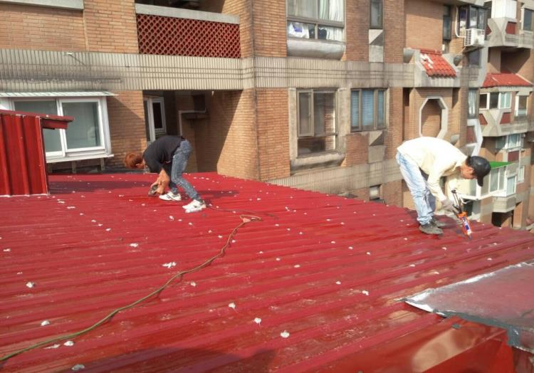 屋頂鐵皮屋施工、鐵皮屋降溫、鐵皮屋加蓋