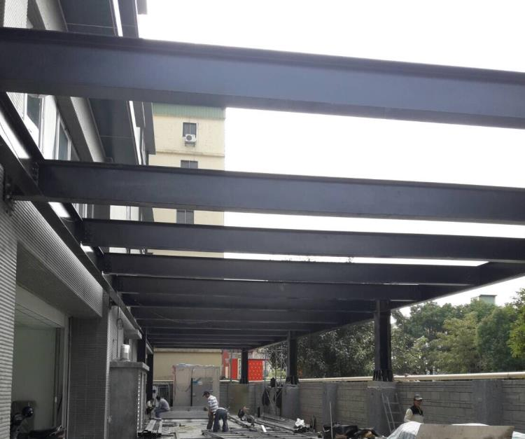 H型鋼鋁鋼構工程、鐵皮屋H型鋼構工程