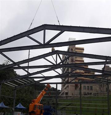 鐵皮屋H型鋼構工程、H型鋼鋁鋼構工程、