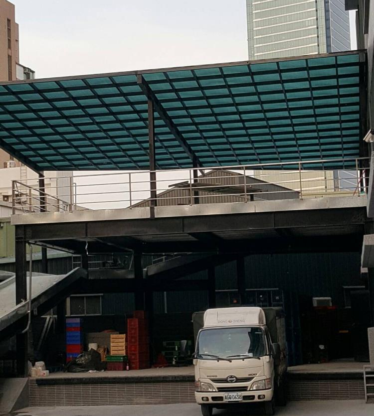 車庫玻璃屋、不鏽鋼採光罩