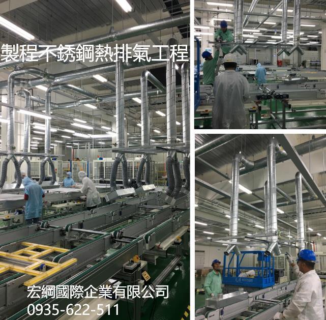 29-製程不銹鋼熱排氣風管工程