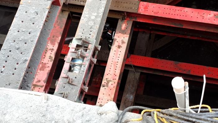 高壓15P4000SUP新莊基地清洗鋼骨