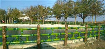 水泥仿竹木欄杆