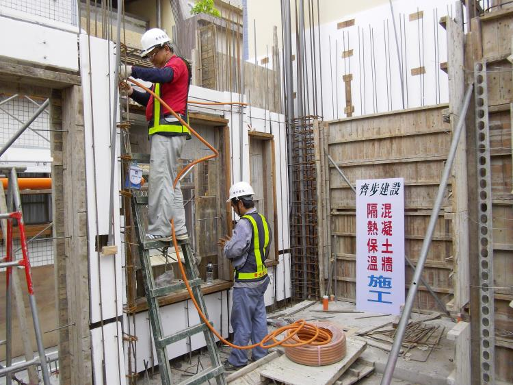 44-隔熱牆之水電配管施工-2