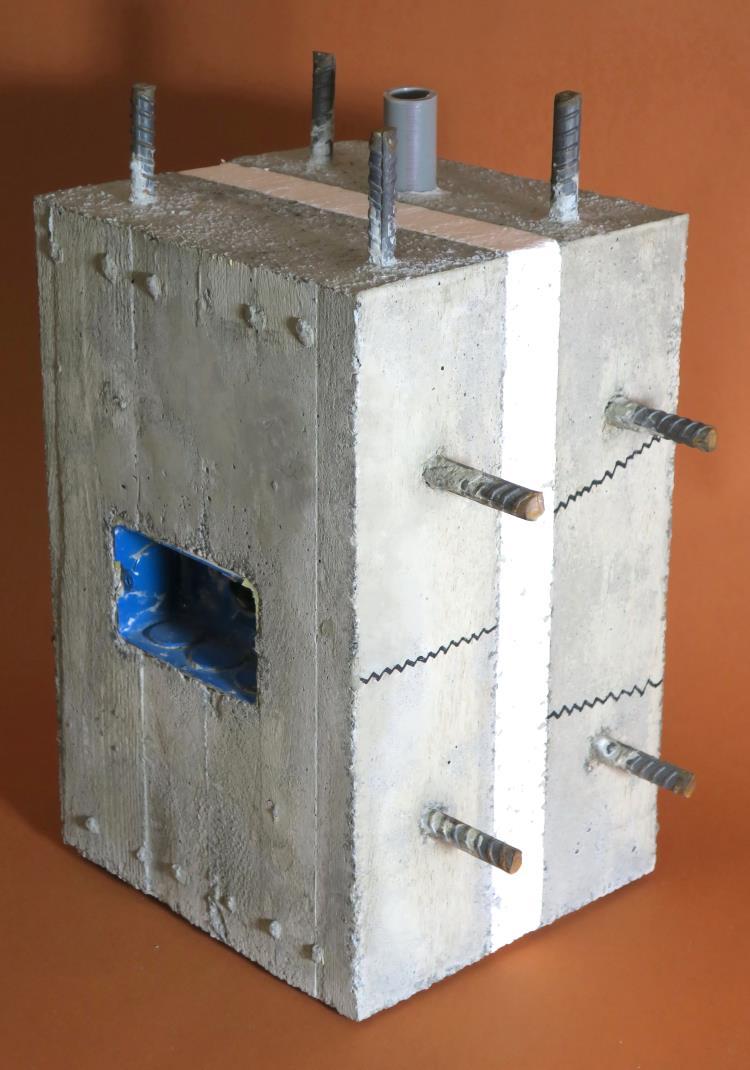 39-「隔熱、保溫混凝土牆」樣品實體