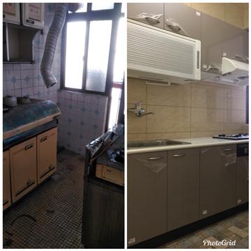 舊屋改造--廚房更新