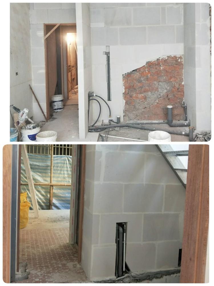 日式鋼構+白磚外牆