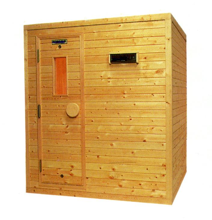 三溫暖組合式原木烤箱