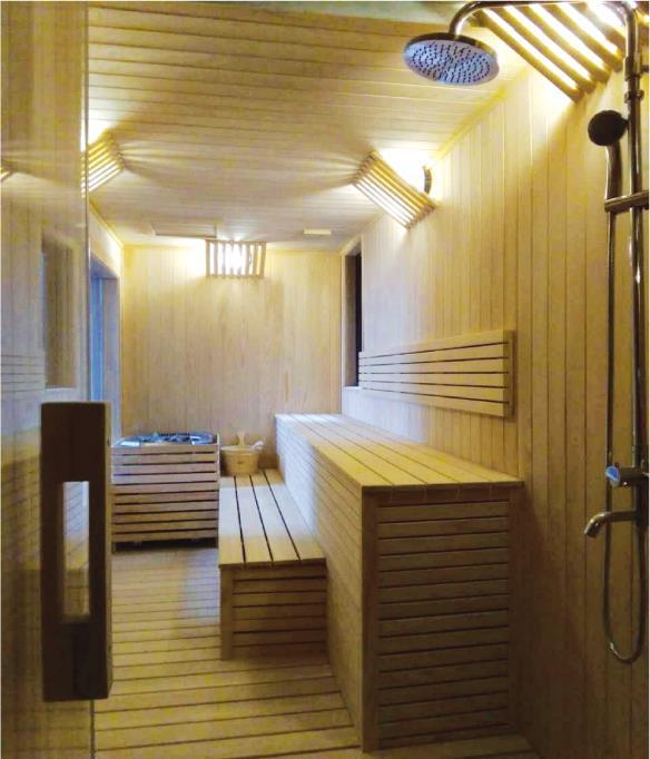 三溫暖原木烤箱