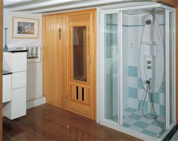 三溫暖蒸氣室