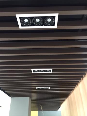 鋁障板天花、鋁障板