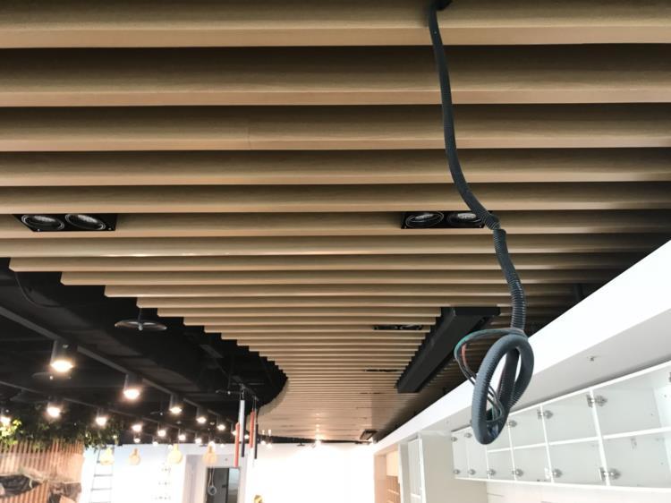 鋁障板天花、鋁障板、金屬障板天花