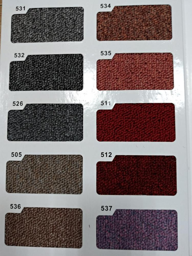 台塑500型地毯(滿鋪式)-色樣圖(1)