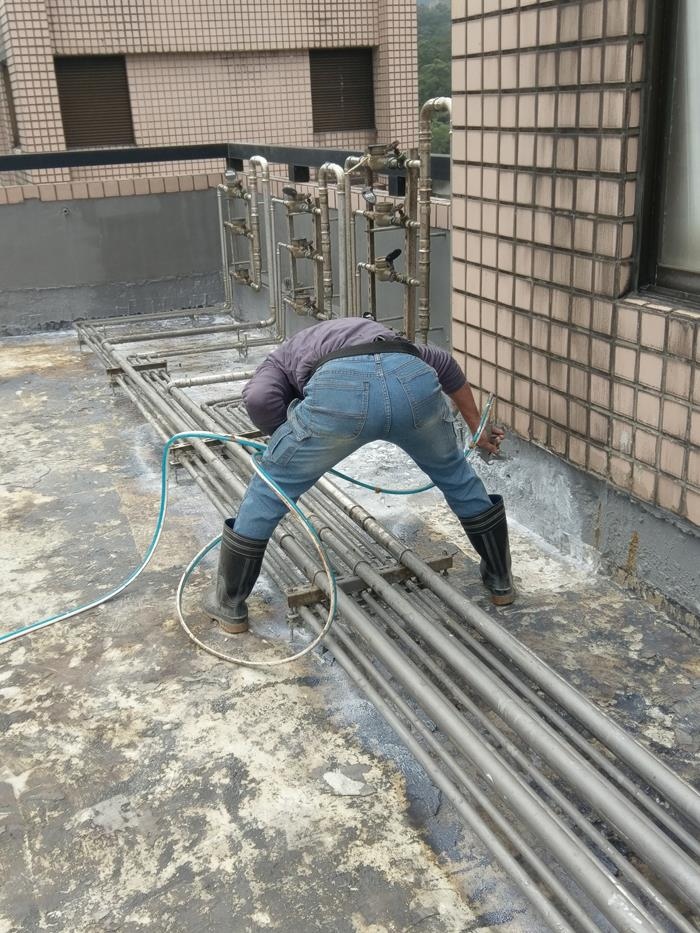 新北市屋頂地坪防水