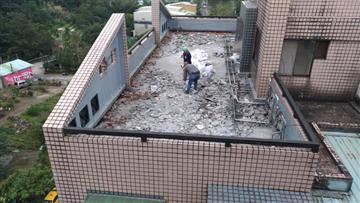 樹林區屋頂地坪防水