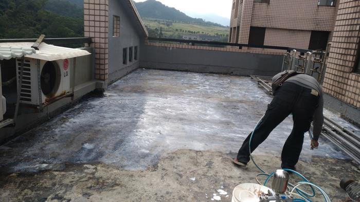 大樓屋頂地坪防水