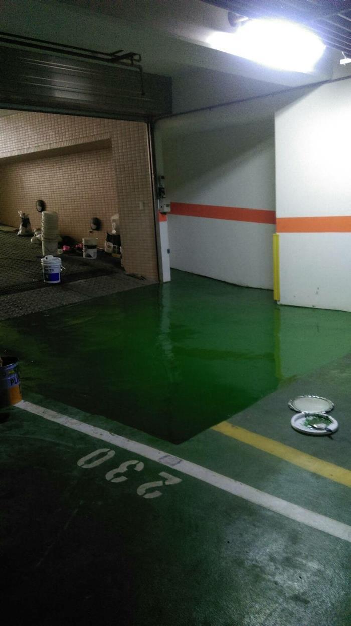 新北市車道環氧樹脂工程
