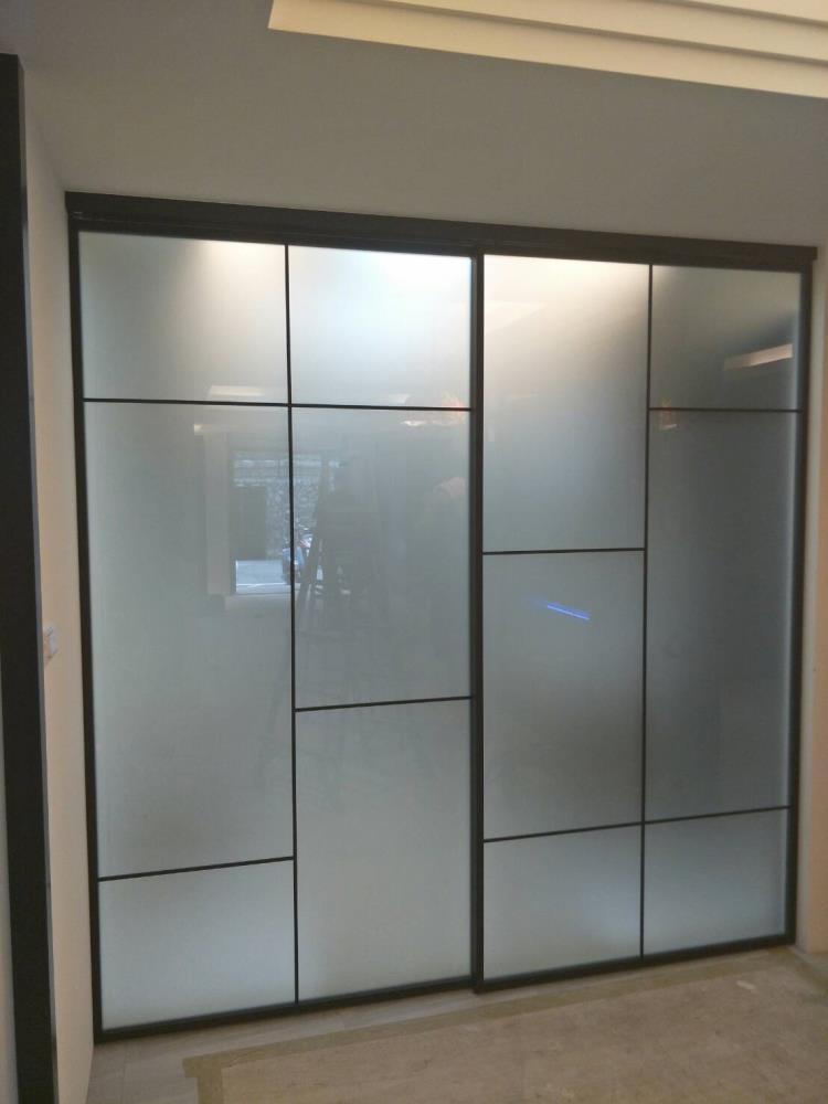 鋁框懸吊門