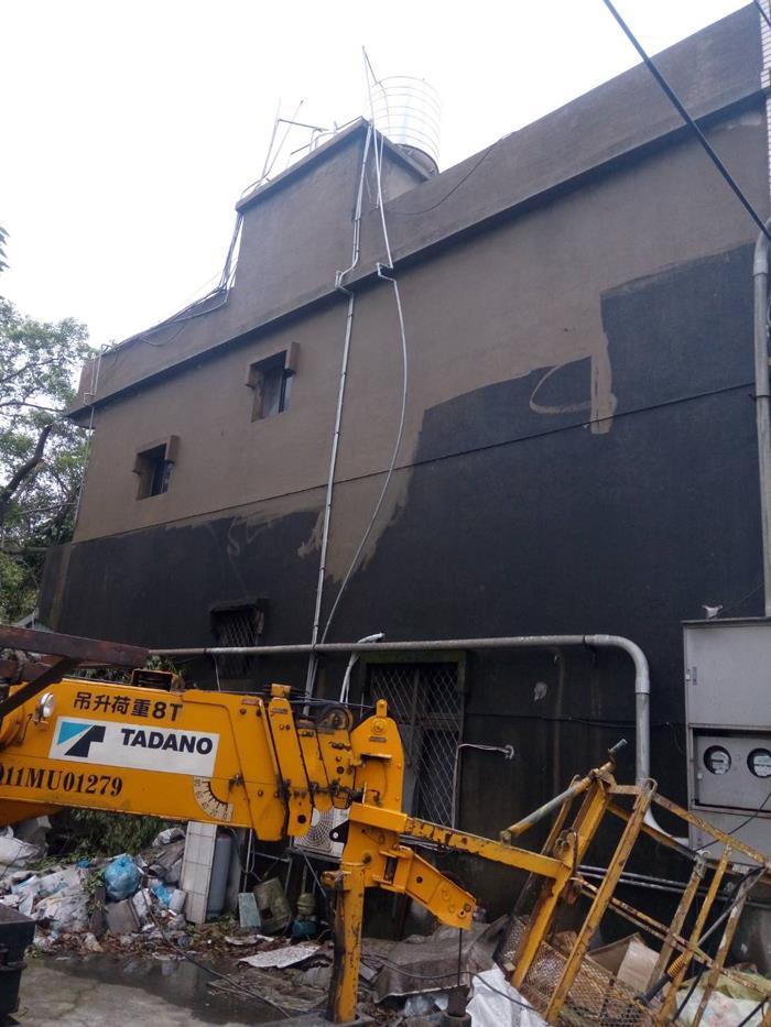 新北市外牆高壓清洗