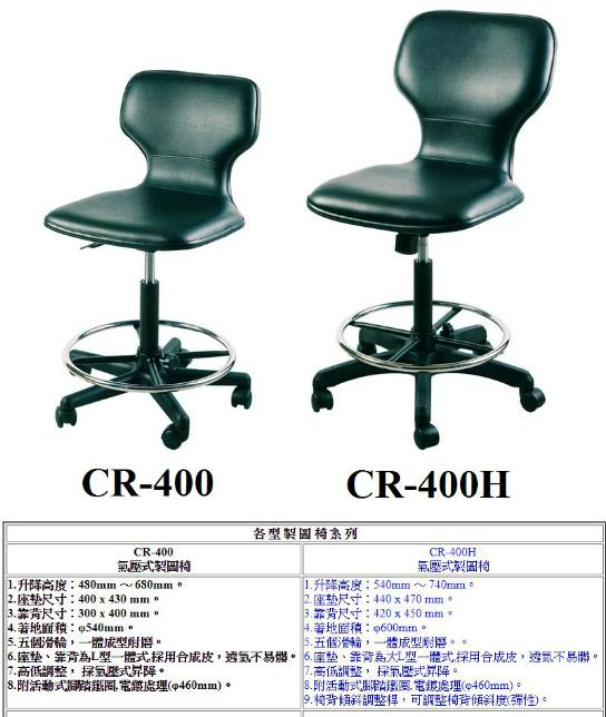 GOODLY 氣壓式製圖椅系列(靠 背 式)