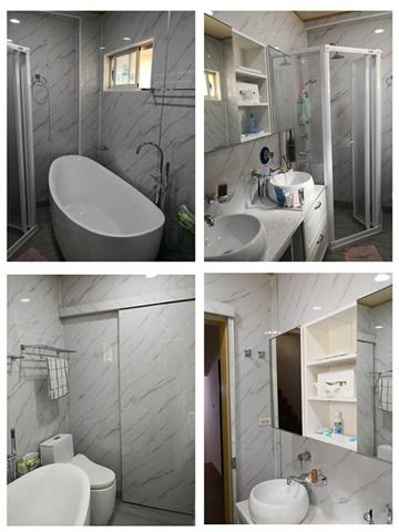 浴室牆面更新
