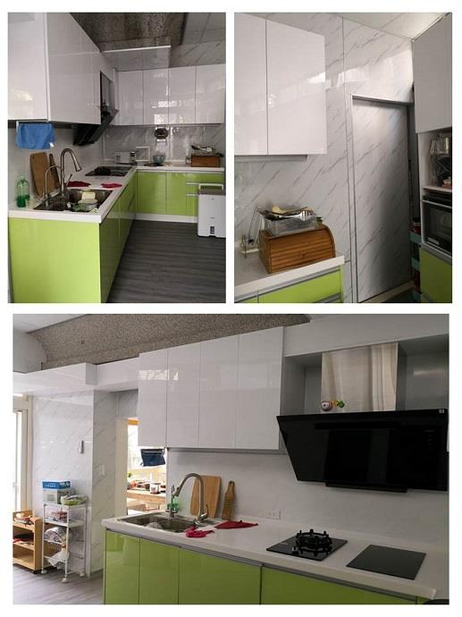 廚房人造石牆板更新