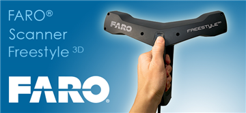 3D掃瞄儀-FARO 3D手持式掃描儀