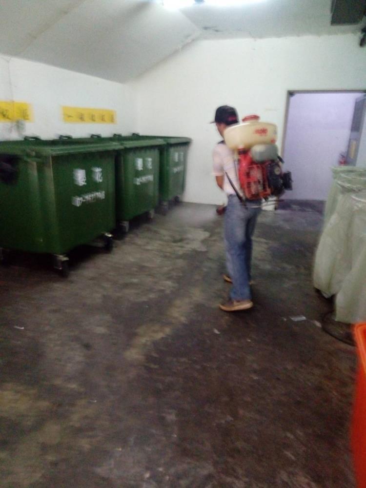 社區大樓環境消毒