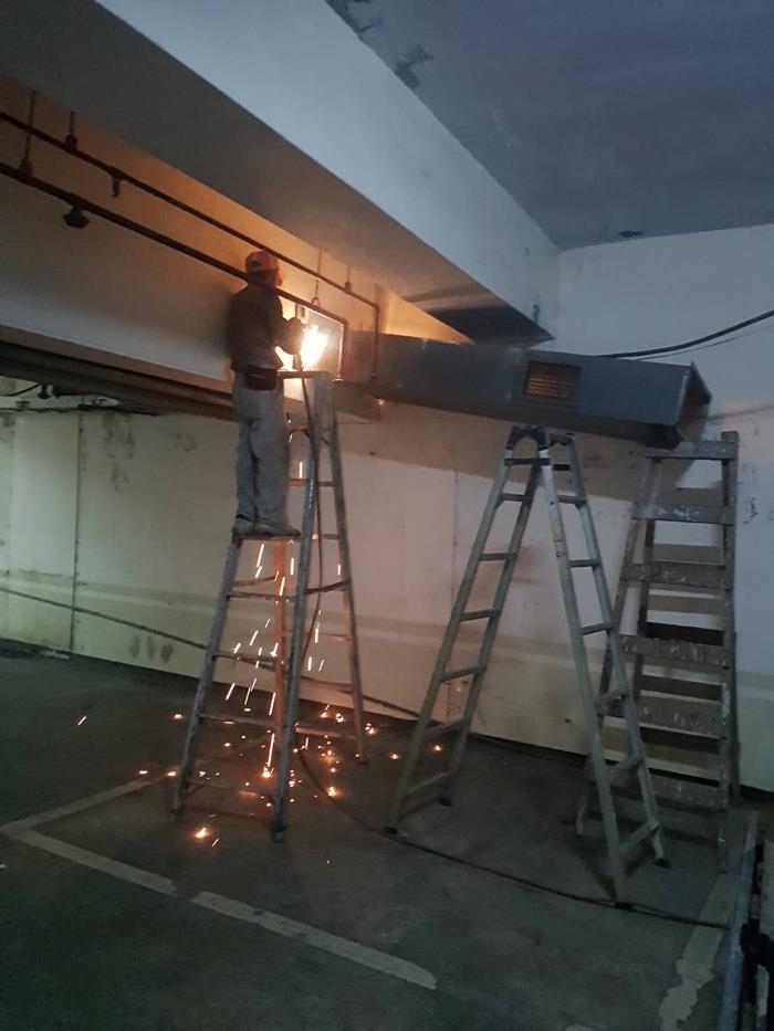風管拆除工程