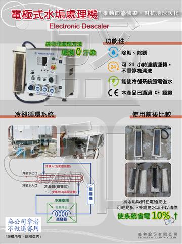 電極式水垢處理機DM