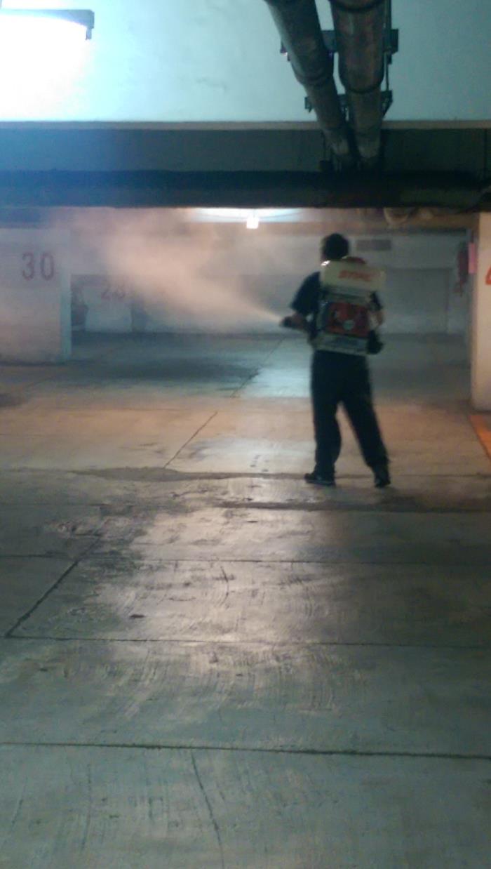 地下室消毒