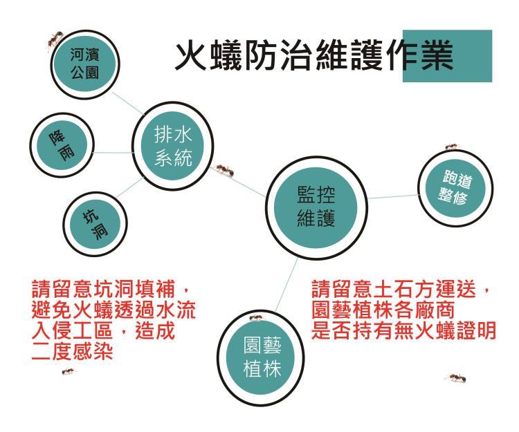 紅火蟻防治維護策略
